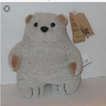 Wife's favorite unknown Russ Teddy/Polar Bear Plush