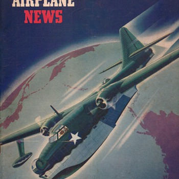 1942 - Model Airplane News magazine - October