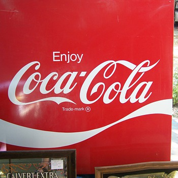 Coke Wave Sign