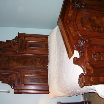 Victorian Bed - Victorian Era
