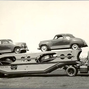 1940's & 50's Auto Transport Photos - Photographs