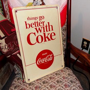 1960's Coca-Cola TGBWC Sign - Coca-Cola
