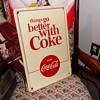 1960's Coca-Cola TGBWC Sign