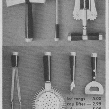1954 Bar Tools Advertisement - Advertising