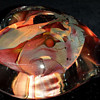 Glass Heart Paperweight