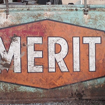 Metal Merit Sign - Signs