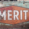 Metal Merit Sign