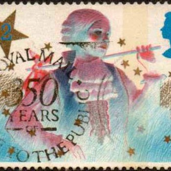 "1985 - Britain ""Christmas"" Postage Stamps"