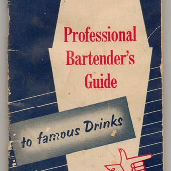 1950's - Pocket Bartender's Guide - Books