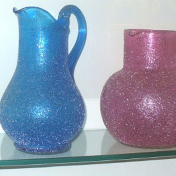 LOETZ PITCHERS AT THE PASSAU MUSEUM - Art Glass