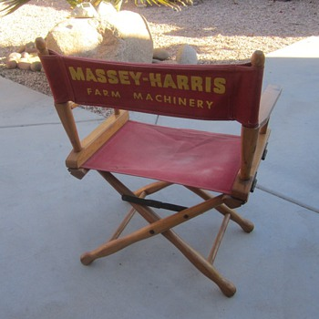 Massey Harris Directors Chair