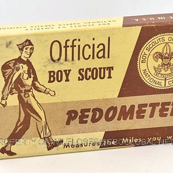 Official New Haven Boy Scout Pedometer in the Original Box - Outdoor Sports