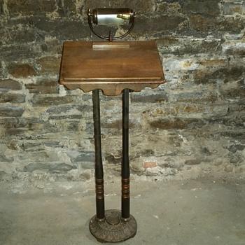 Antique Lectern Pulpit Podium