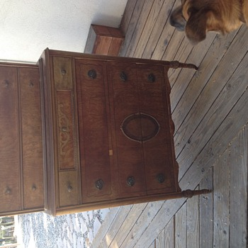 Highboy with Inlay Can't identify