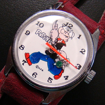 1971  Popeye Wristwatch - Wristwatches