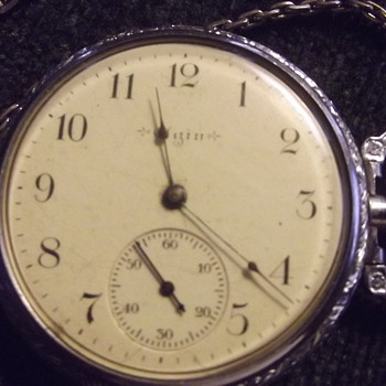Elgin pocket watch. - Pocket Watches