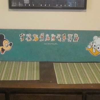 Disney Sign/Chalkboard - Signs