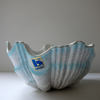 unusual Bertoncello Bowl - Art Pottery