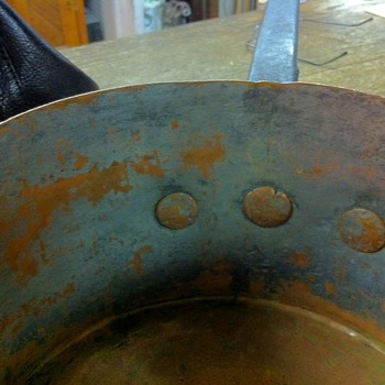 Does anyone recognized this mark - or know anything about NY copper  producers? - Kitchen