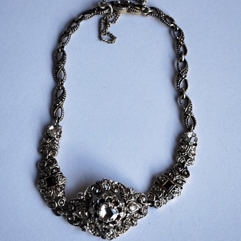Vintage Victorian style bracelet with rose cut diamonds