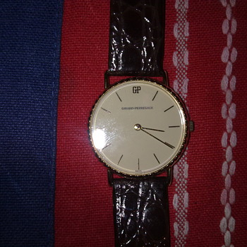 VINTAGE GIRARD PERREGAUX 17 JEWEL WRISTWATCH - Wristwatches