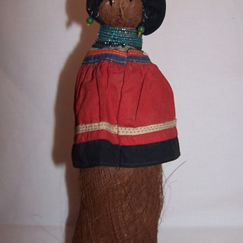 Vintage Seminole Indian Doll Mid-Century