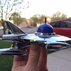 Alex Tremulis Spaceship Hood Ornament