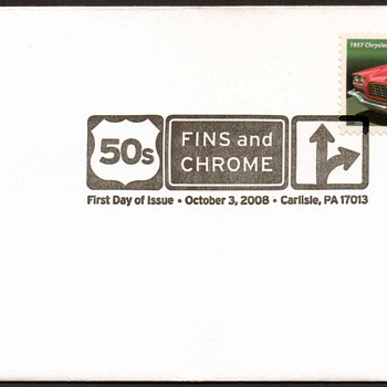 2008 - '57 Chrysler 300C Stamp First Day Cover
