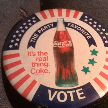 coca cola button - Coca-Cola