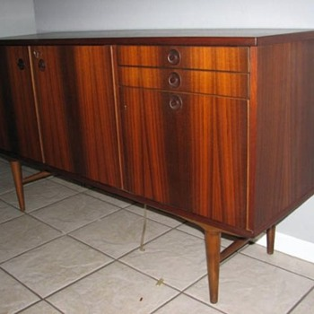 Rosewood Credenza from Sweden