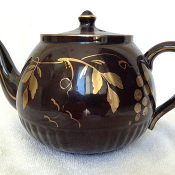 Erte Tea Pot Art Deco