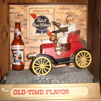 Start Your Engines!!!  Chirp, Chirp.......Pabst - Breweriana