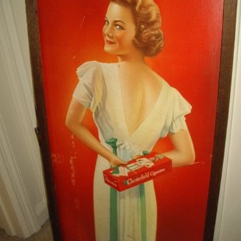 Vintage Chesterfield Cigarettes Ad
