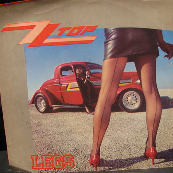 ZZ TOP 45rpm with Picture Sleeve - Records