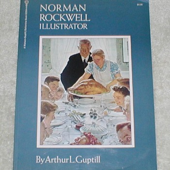 1971 Norman Rockwell - Illustrator - Books