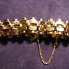 Monet 'Diana' link bracelet goldtone