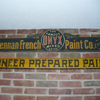 Awesome paint advertising signs. - Signs