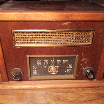 GE radio need help with any info dating radio