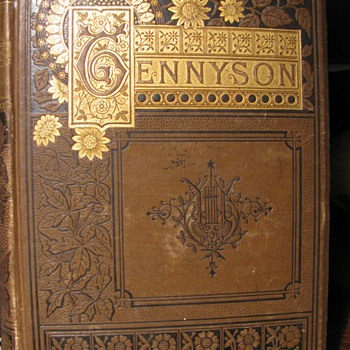 From early to mid 1800's -- TENNYSON'S POEMS - Books