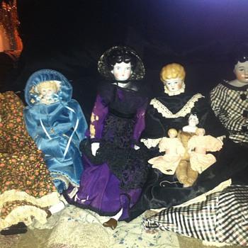 china head dolls - Dolls