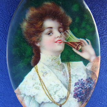 1906 Coca-Cola Pocket Mirror
