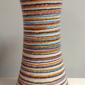 Vintage Guildcraft Italian Pottery Vase - Art Pottery