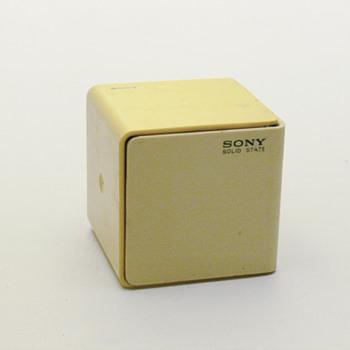 SONY cube radio TR-1825K