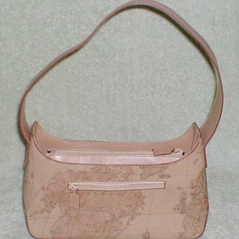 Ladies Kaela Handbag - World Map