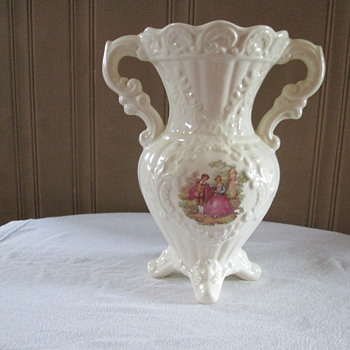 Victorian Looking Vase - Pottery