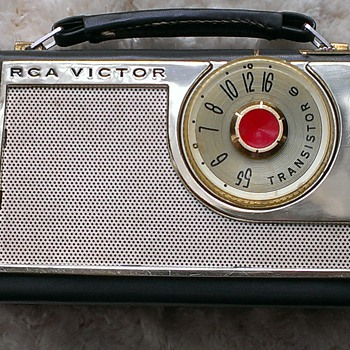 RCA 1BT46 Transistor Portable Radio