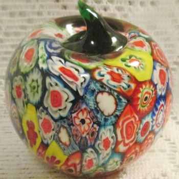 Murano Millefiori paperweights - Art Glass