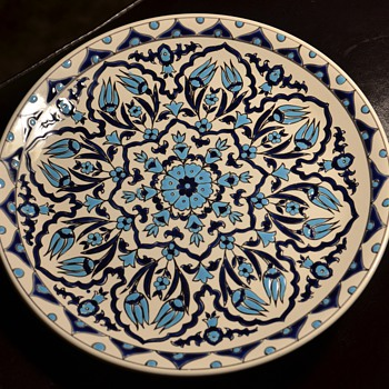 Greek Plate - info? - Art Pottery