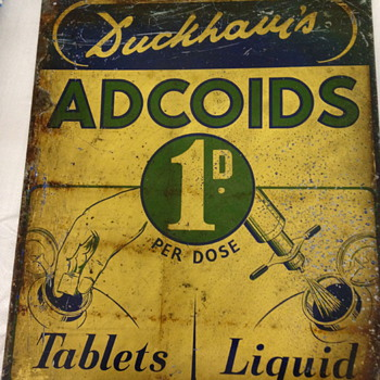 Duckhams Adcoids from England 1920 -30 ?? - Petroliana