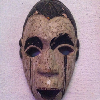 Wooden Mask from Bali  - Visual Art